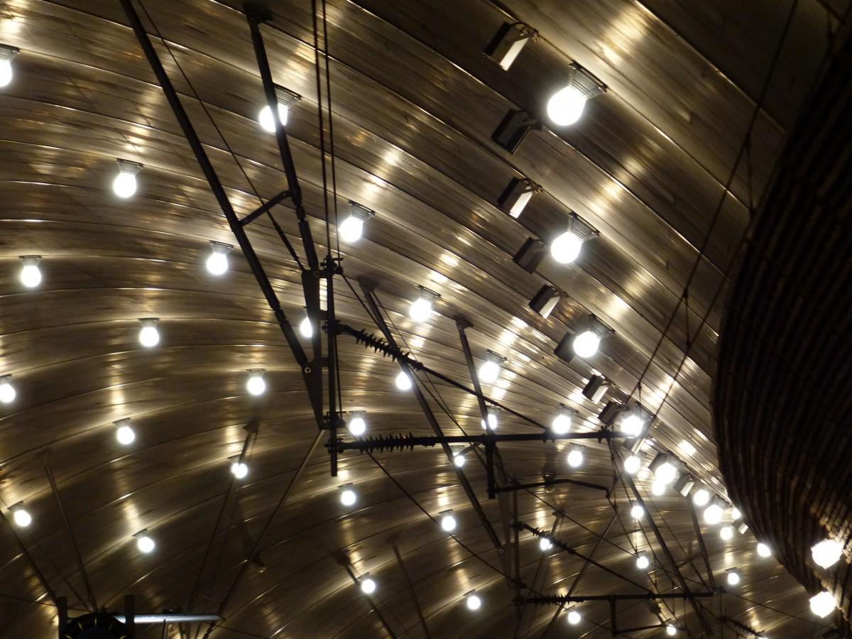 무료 이미지 : 빛나는, 천장, 방, 조명, 인테리어 디자인, 전구 ...