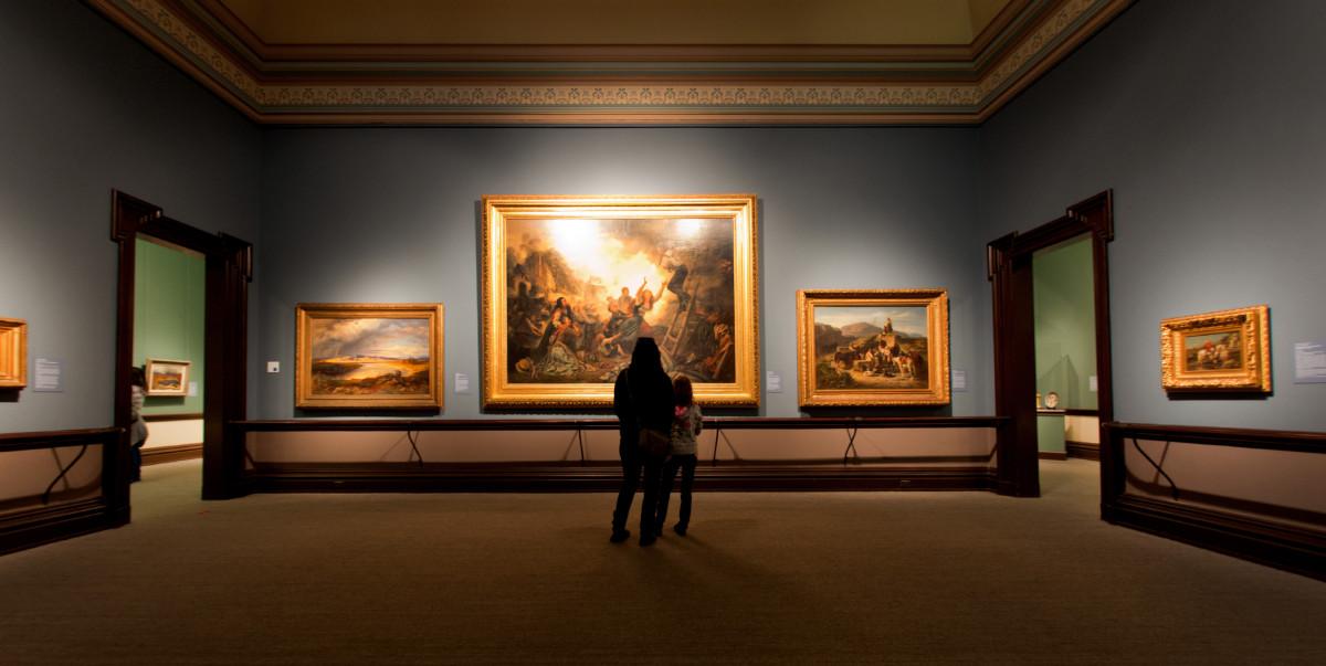 Free Images : museum, living room, california, interior ...