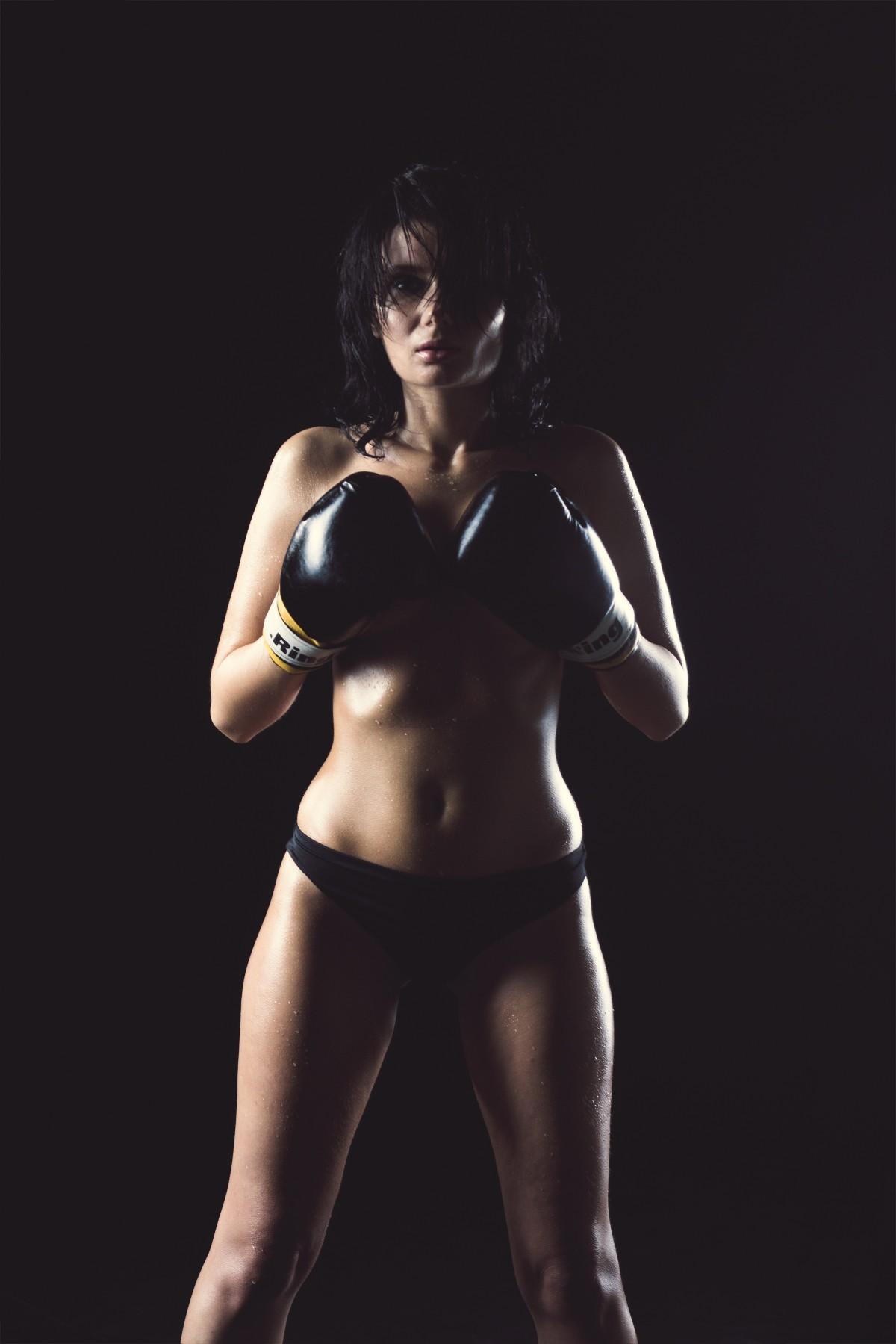 muscle girl beauty nude