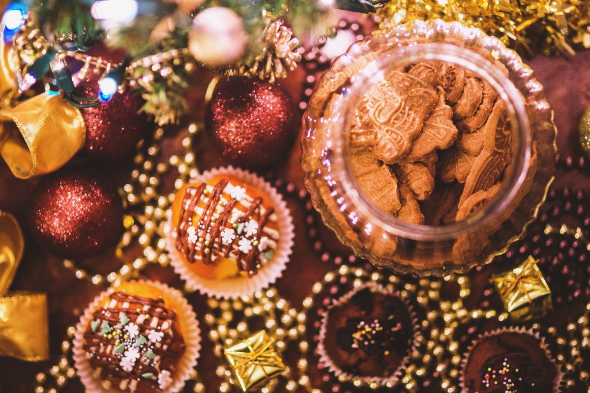 Новогодние картинки сладостей