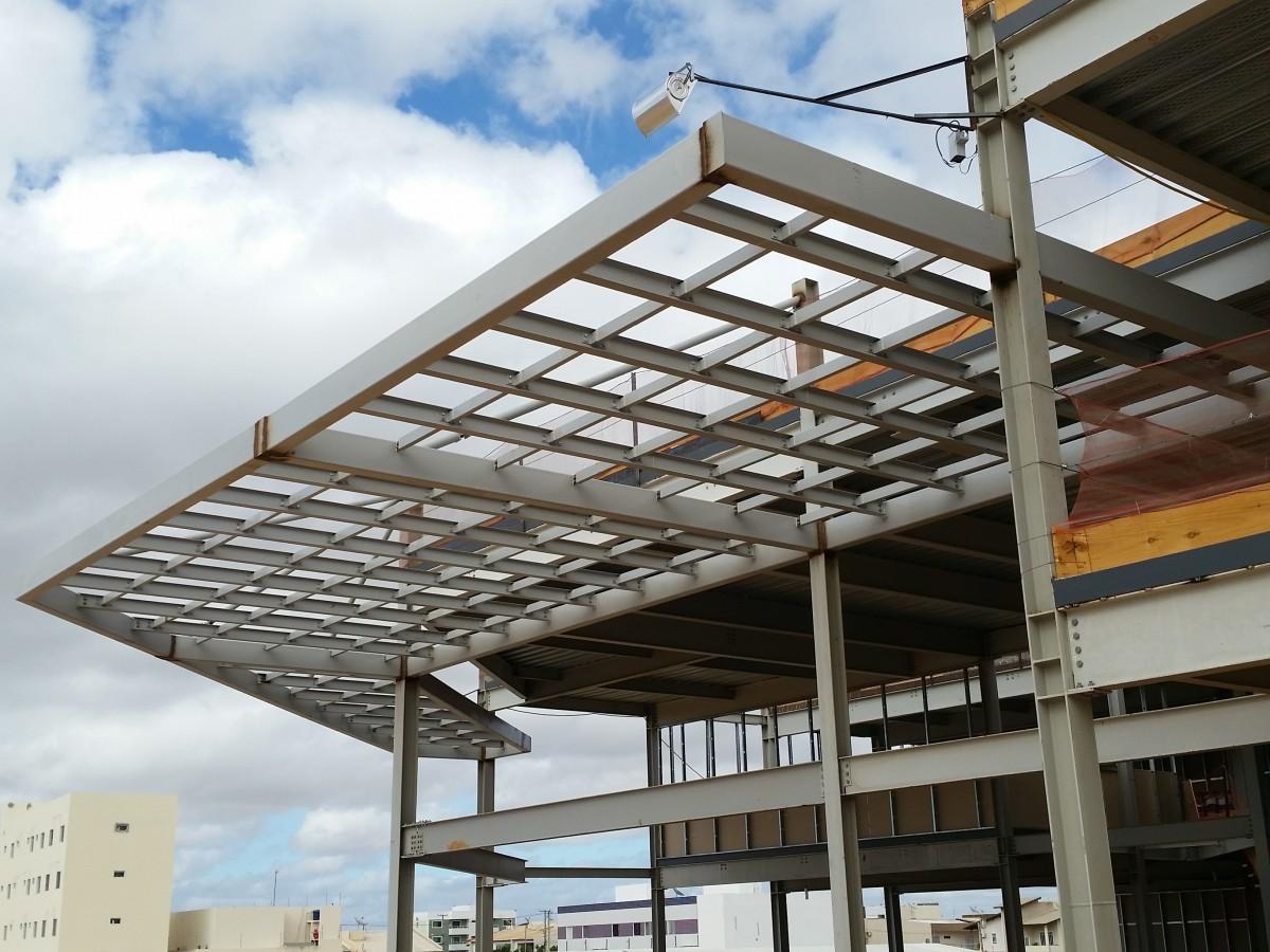 Fotos gratis arquitectura estructura madera edificio haz construcci n pretil marco de - Estructuras de metal ...