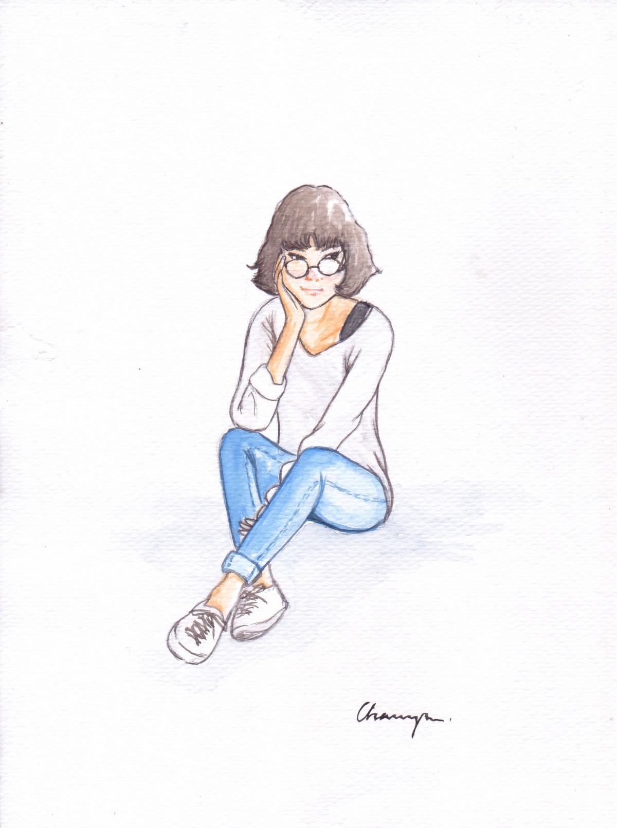 Gambar Kartun Wanita Sedih Sendirian Gambar Penulisan Tangan Sendirian Wanita Lukisan Sketsa Ilustrasi Gambar Kartun Posisi Manusia Siiting 1737x2333 751151 Galeri Foto Pxhere