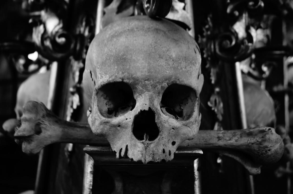 Kerangka di Sedlec Ossuary