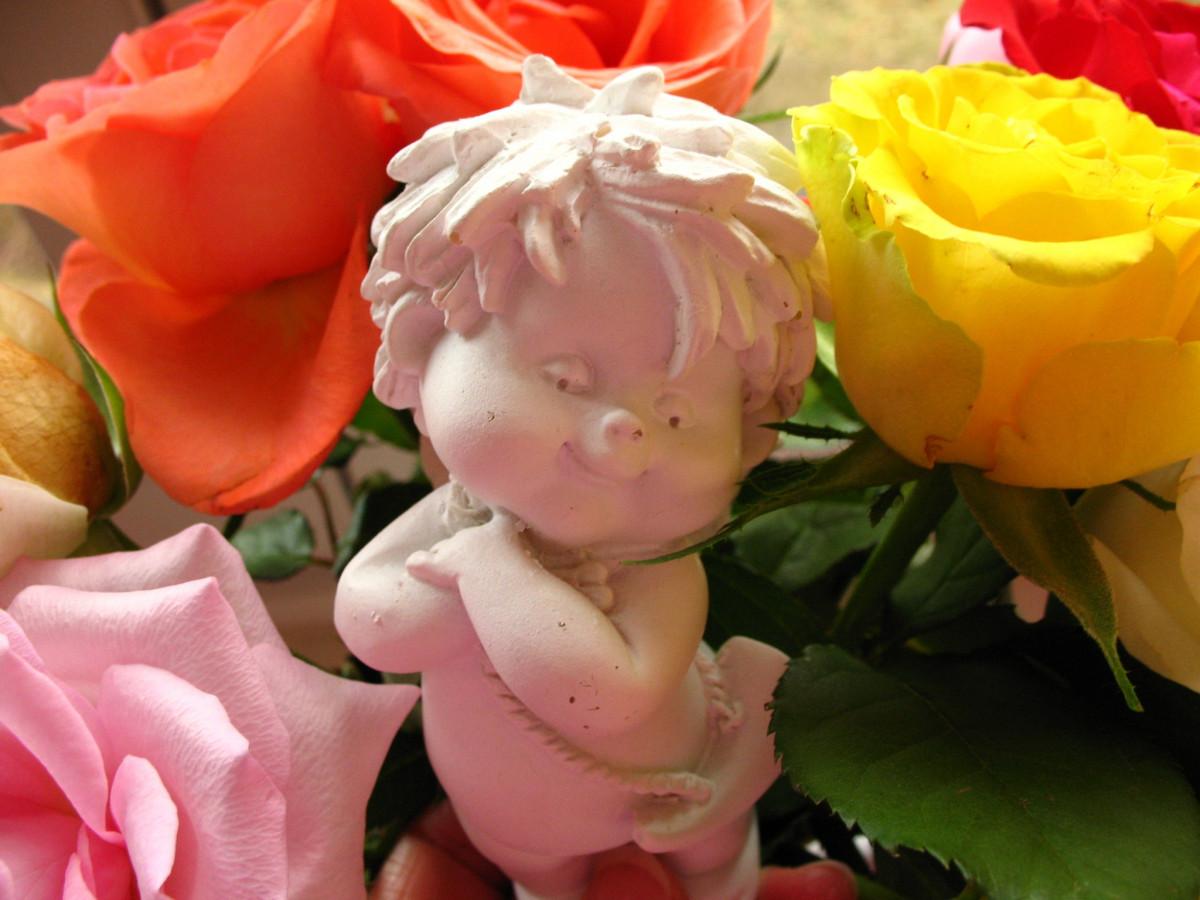 нежный голос ангел с цветами красивые картинки апартаментах