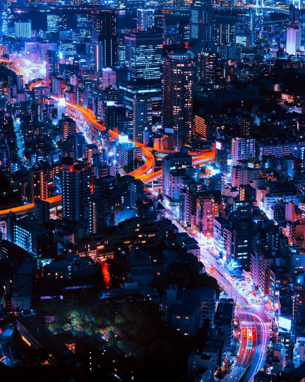 Ночные крутые картинки