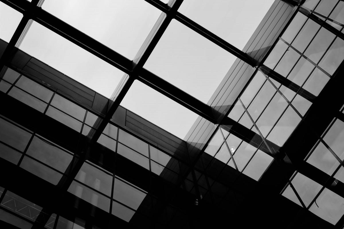 Images gratuites noir et blanc architecture ciel for Conception et bureau du batiment