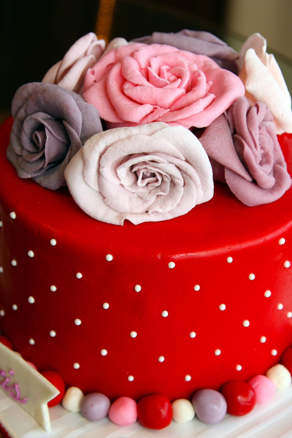 Free Images Sweet Flower Petal Floral Heart Food