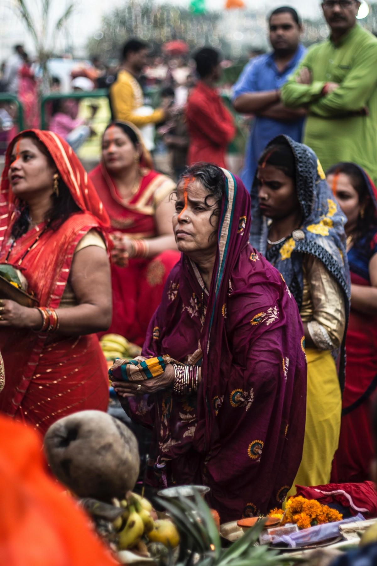 Bildet  Voksen, Bihar, Bihari Festival, Feiring, Seremoni -9565