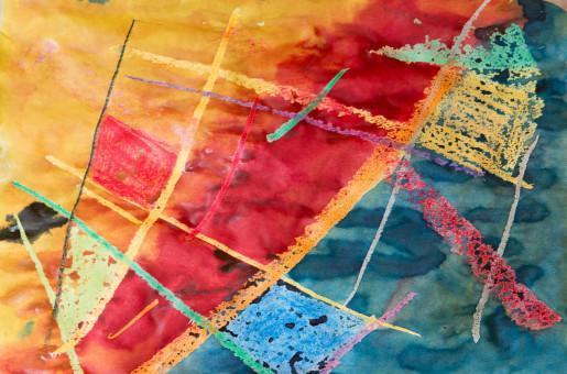 mural de cores
