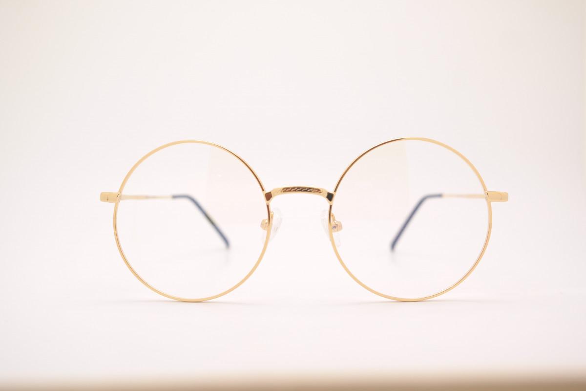 Free Images : golden, broken, circle, sunglasses, eyewear, shape ...
