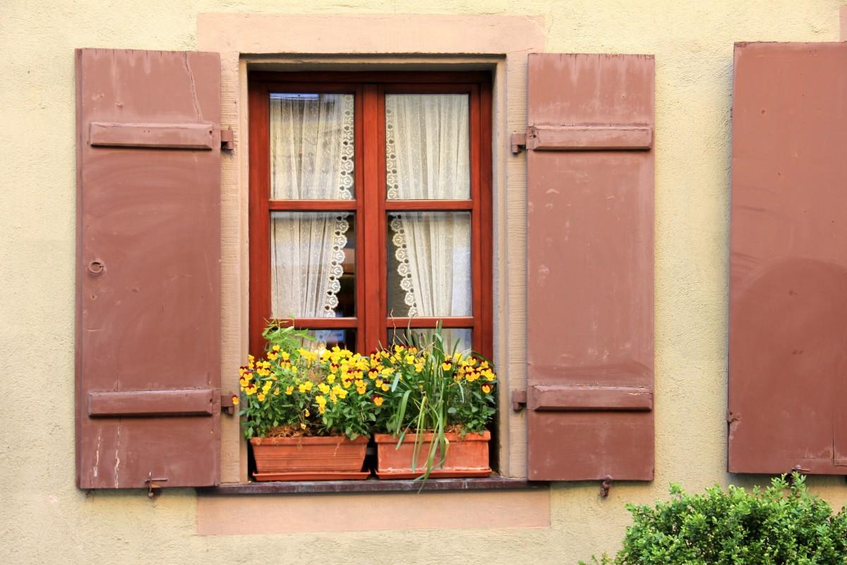 fleur balcon