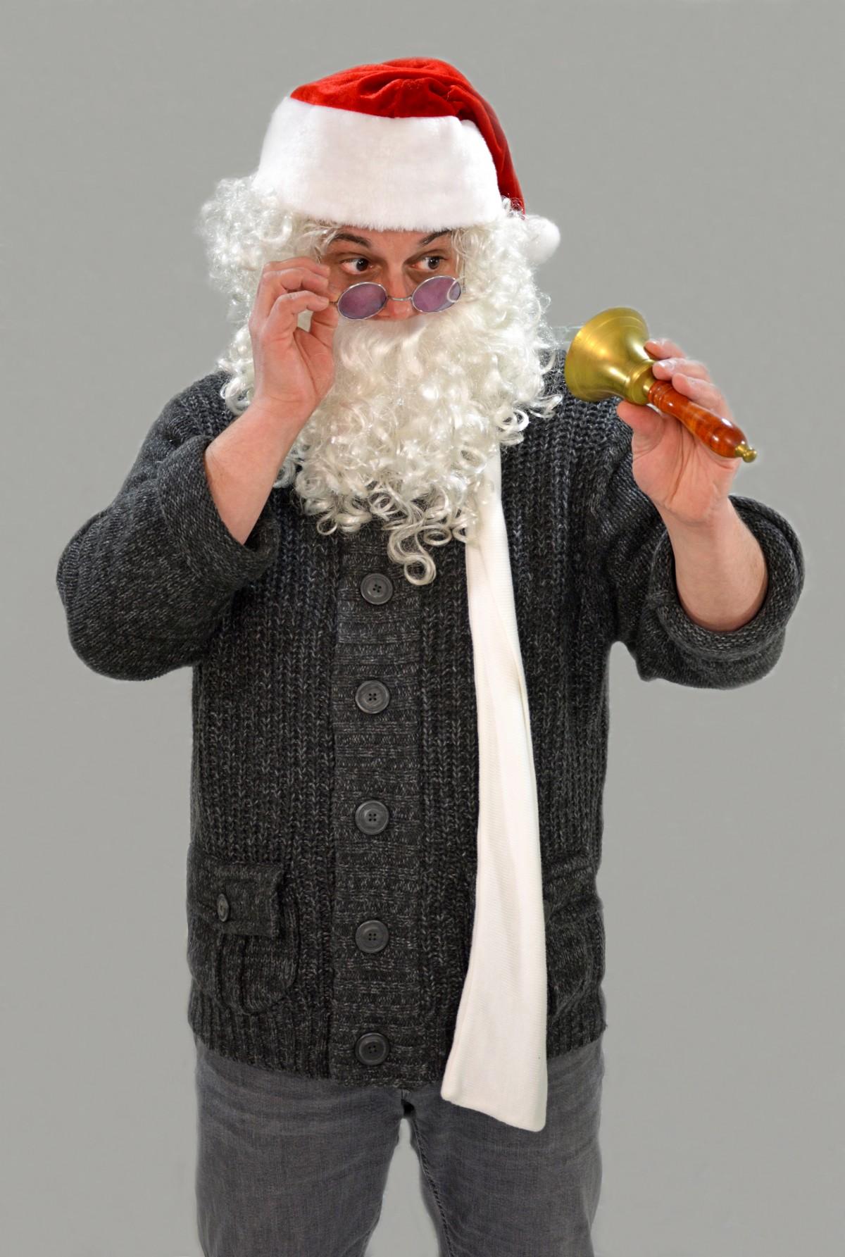 Gratis Afbeeldingen Winter Ring Klok Kerstmis Baard De