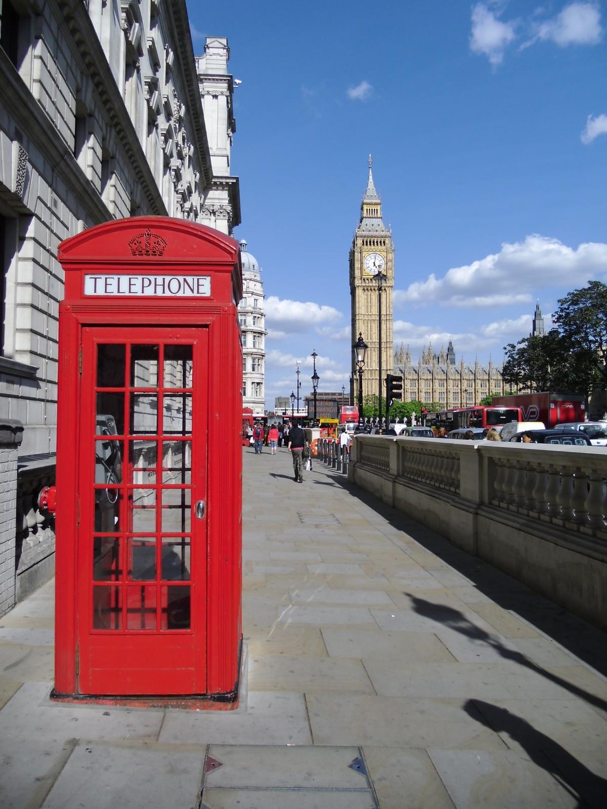 calle pueblo ciudad centro de la ciudad viajar transporte torre cabina transporte público gran Ben Londres cabina telefónica área urbana cabina de teléfono Asentamiento humano Estructura al aire libre
