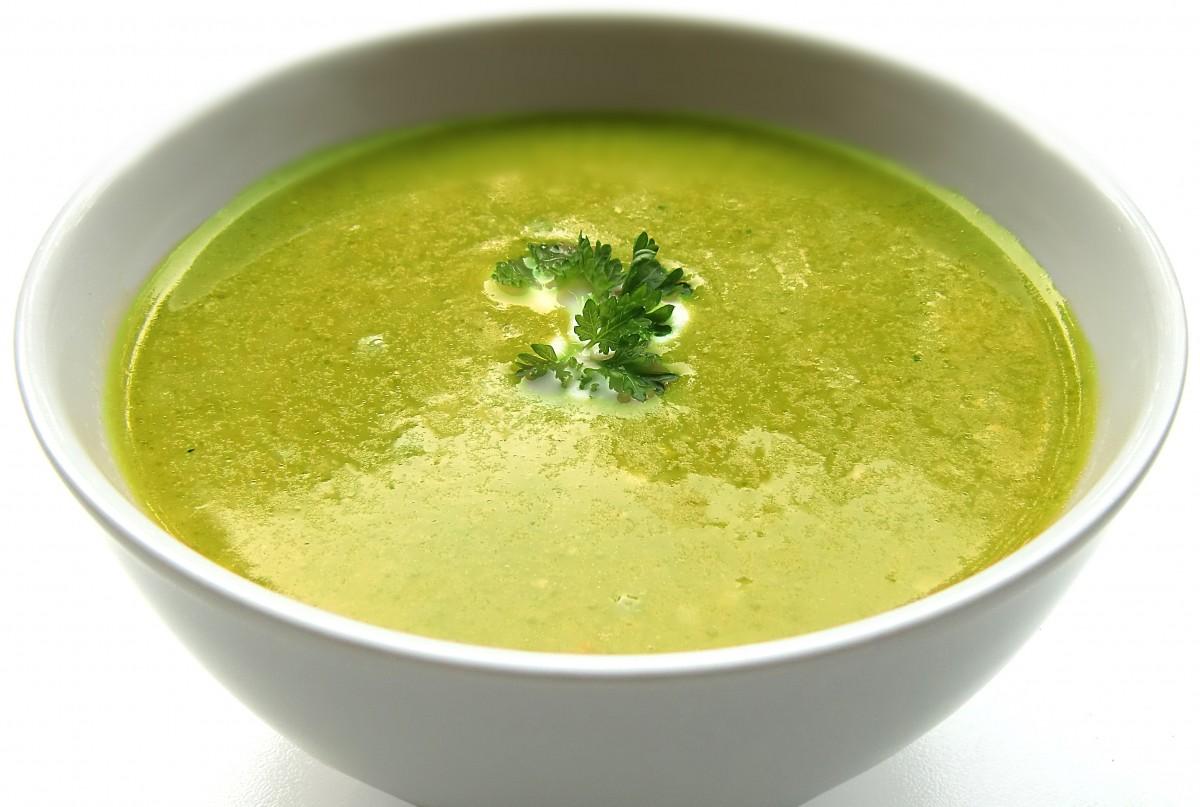 cuenco plato comida Produce vegetal sopa planta floreciendo Sopa de crema Planta de tierra sopa de puerro Salsa verde