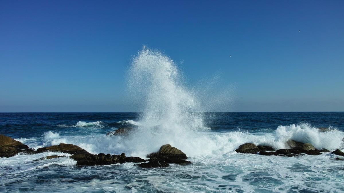Free Images Beach Coast Sand Ocean Horizon Shore Body Of Water Waves Cape Winter Sea