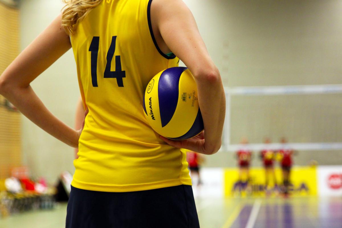 Телка на волейболе, Девчонки устроили обнаженный волейбол на пляже 16 фотография
