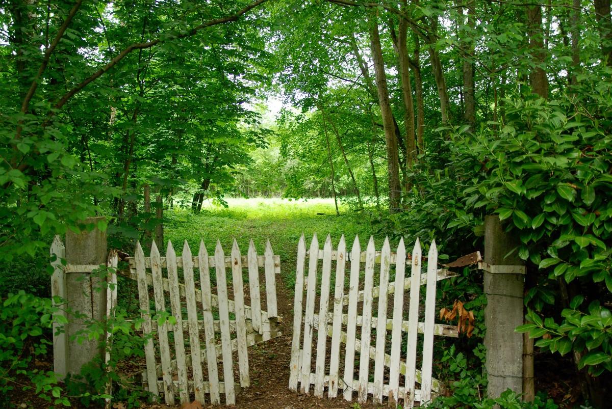 Fotos gratis campo propiedad jard n port n cerca de - Cercas de jardin ...