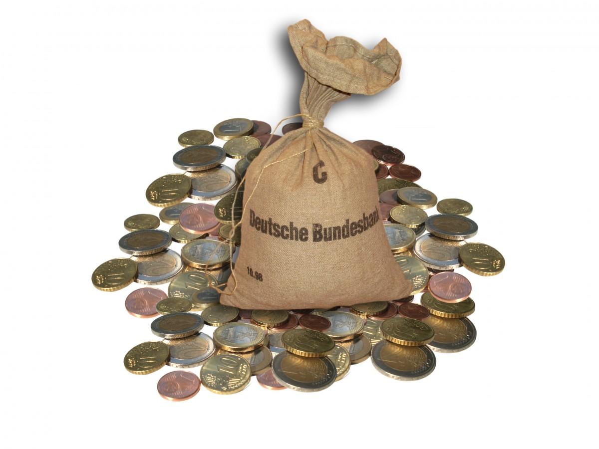 Открытки именинами, прикольные картинки мешок с деньгами