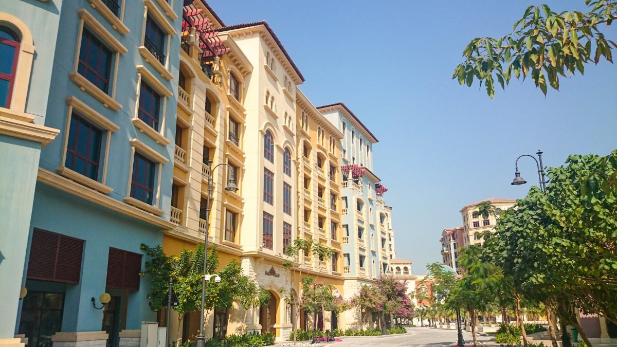 town building city downtown plaza facade property apartment estate condominium neighbourhood real estate residential area human settlement