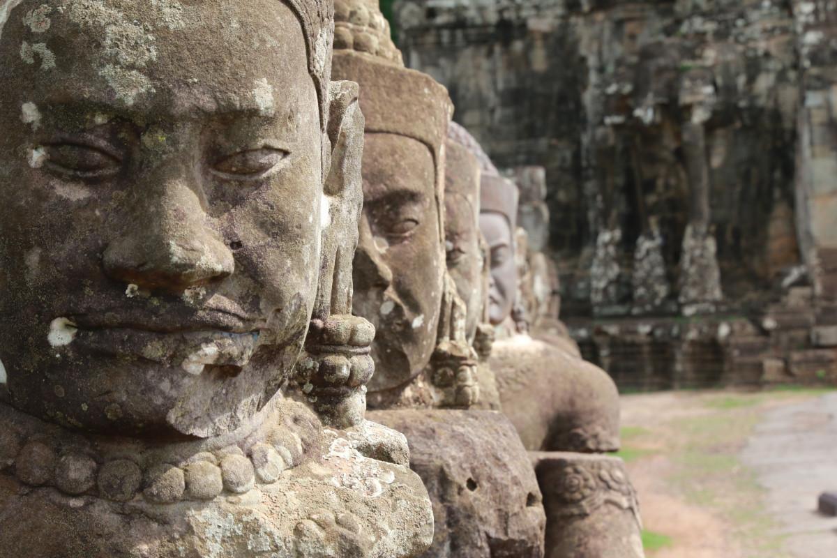 Free images rock monument statue asia sculpture art