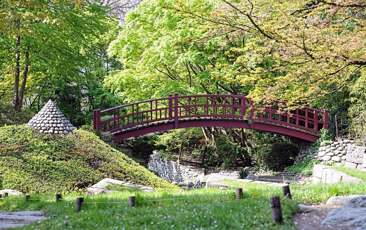 Images gratuites la nature pont fleur parc jardin - Mobilier jardin hiver boulogne billancourt ...