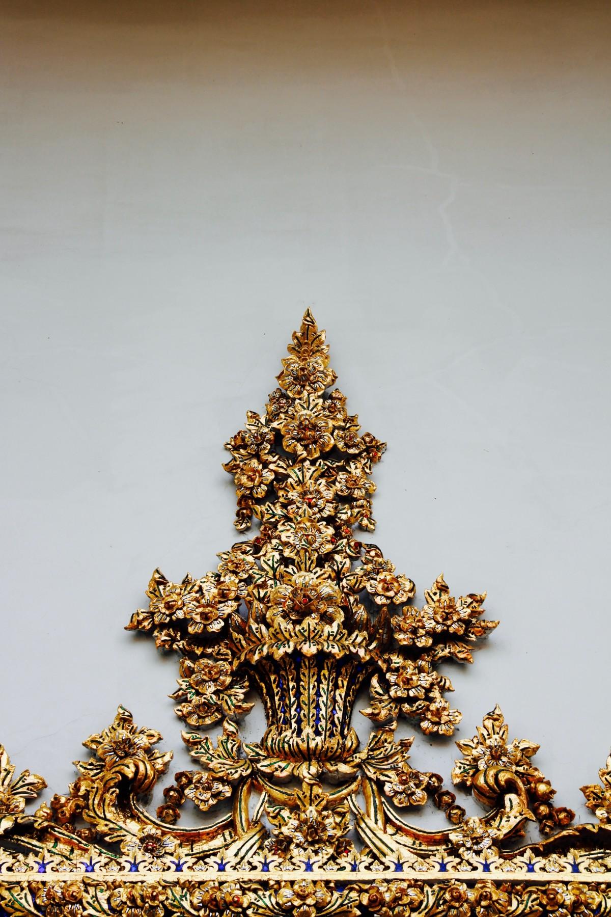 Ilmaisia kuvia puu rakenne kuvio kultainen valaistus - Arbol de navidad sencillo ...