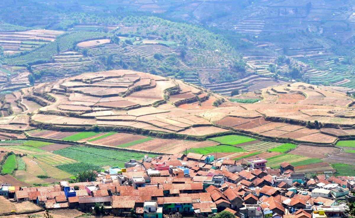 Immagini Belle : paesaggio, montagna, campo, azienda agricola, valle ...