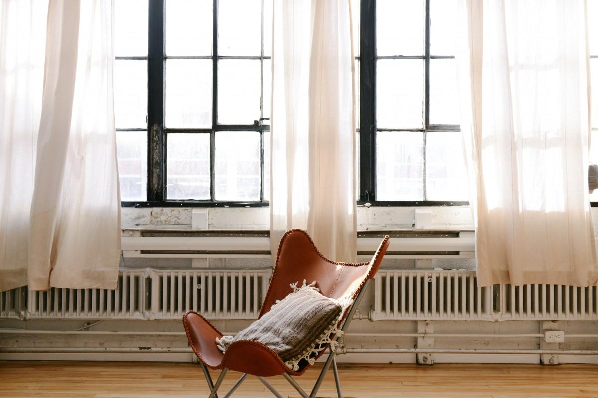Table, Wood, Leather, House, Chair, Floor