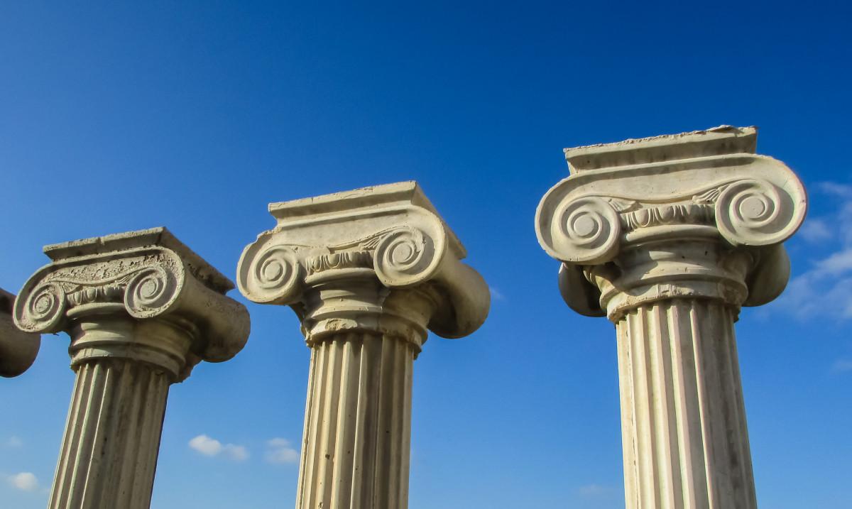 картинка с греческой колонной вам
