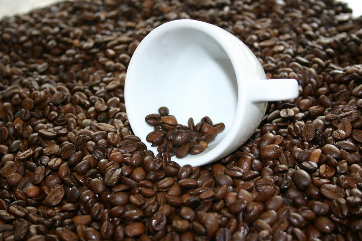Kahvikuppi Kofeiini