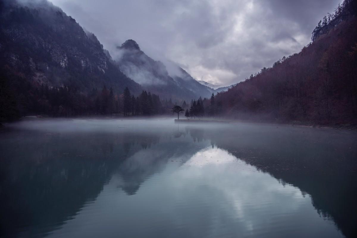 Images Gratuites : eau, la nature, Montagne, neige, nuage ...