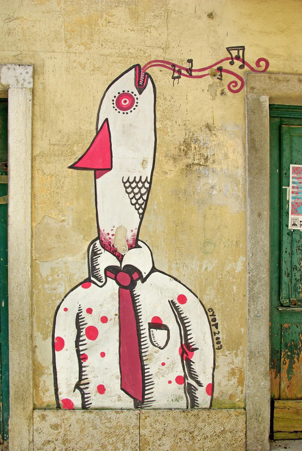 Free Images : street art, lisbon, portugal, graffiti, mural, wall ...