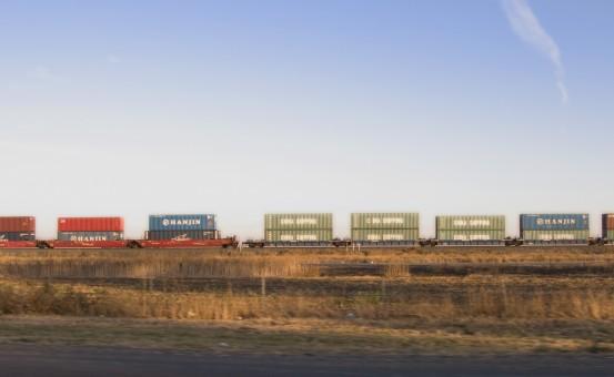 horizonte,autopista,tren,transporte,vehículo,carga
