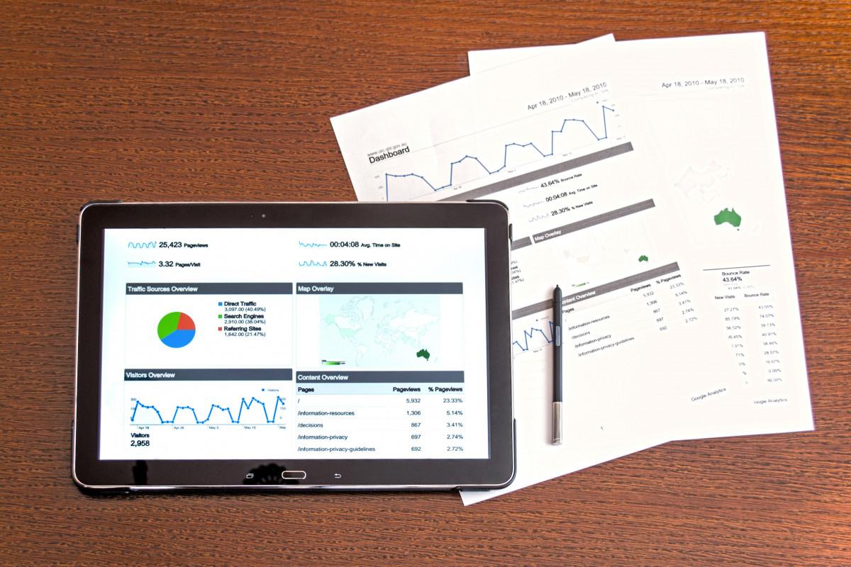une analyse analytique Entreprise graphique graphiques ordinateur concept Les données bureau dispositif diagramme numérique document équipement la finance financier graphique Graphiques information investissement emploi la gestion commercialisation moderne Bureau profit rapport