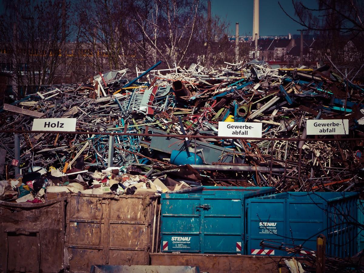 City, Cityscape, Environment, Broken, Metal, Waste
