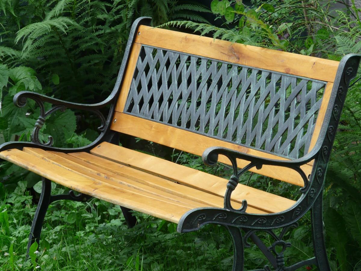 Fotos gratis : mesa, madera, banco, silla, asiento, espacio, metal ...