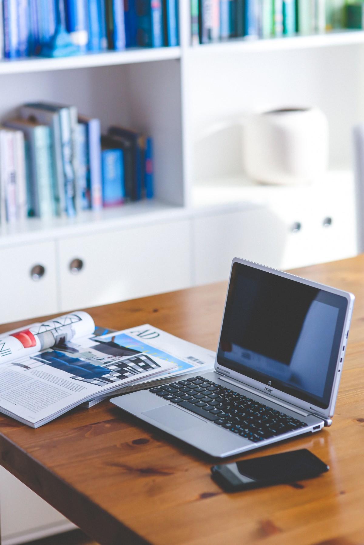 free images laptop desk computer table wood wall shelf living room cactu furniture. Black Bedroom Furniture Sets. Home Design Ideas