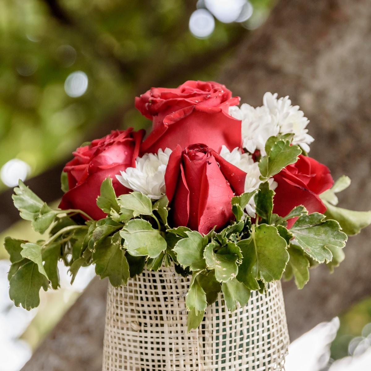 Природа цветов букет из роз, букет
