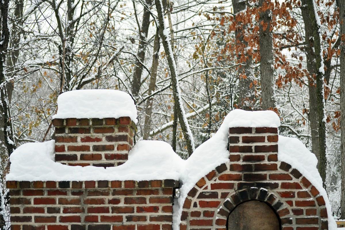 Fotos gratis rbol bosque nieve fr o invierno - Cabanas de madera en la nieve ...