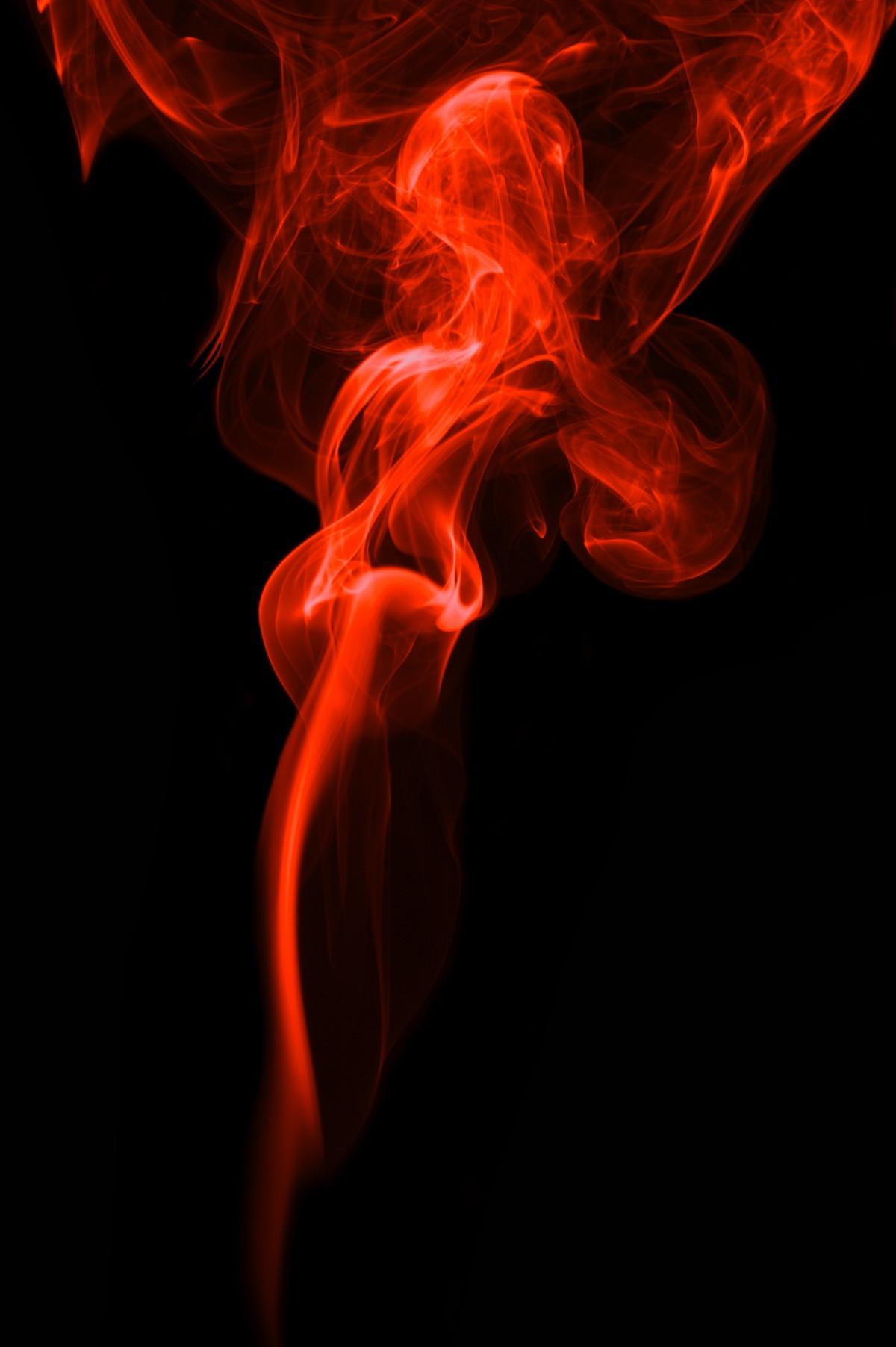 Black Glasses Fire Red