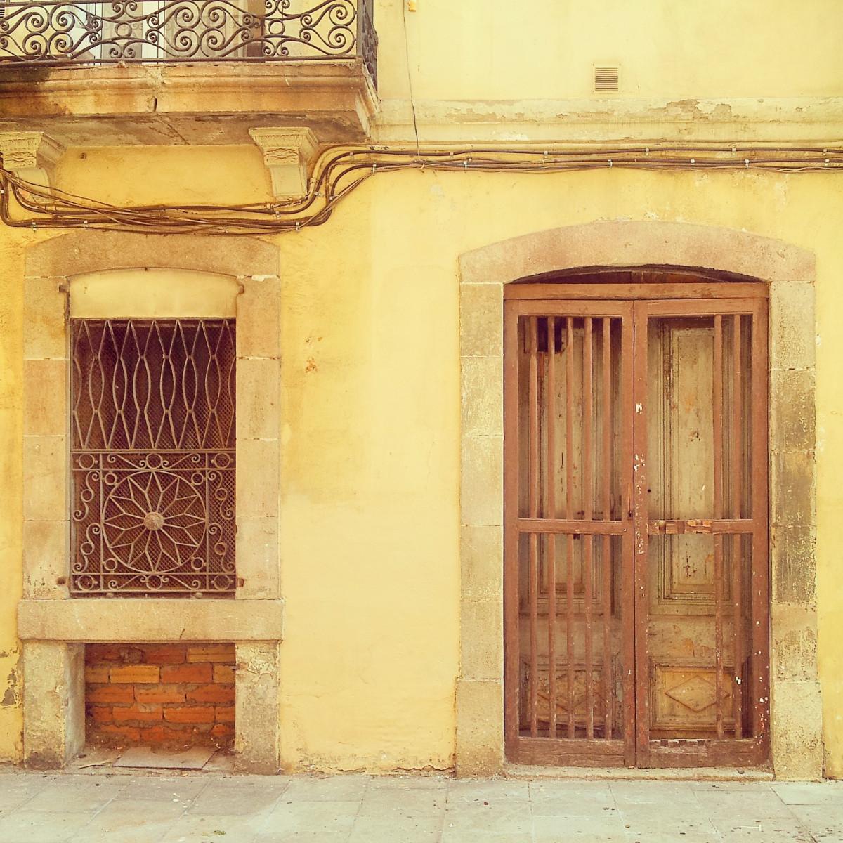 Images gratuites architecture bois manoir fen tre vieux mur pierre balcon cambre for Porte fer forge ancienne