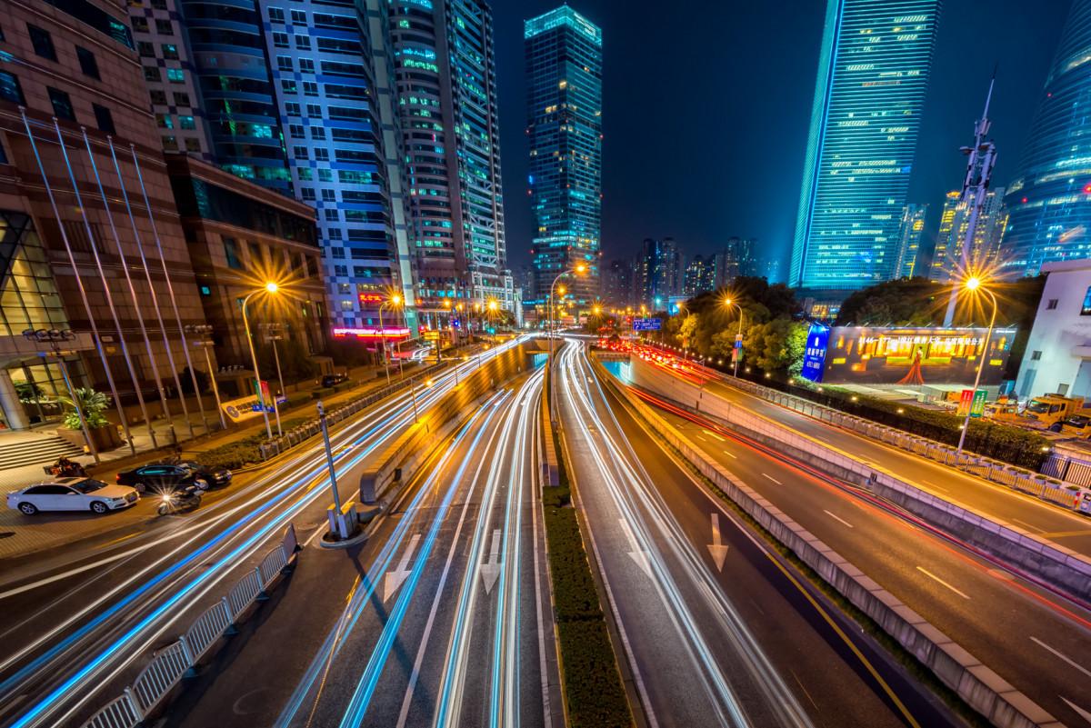 Free Images Light Bokeh Skyline Traffic Street