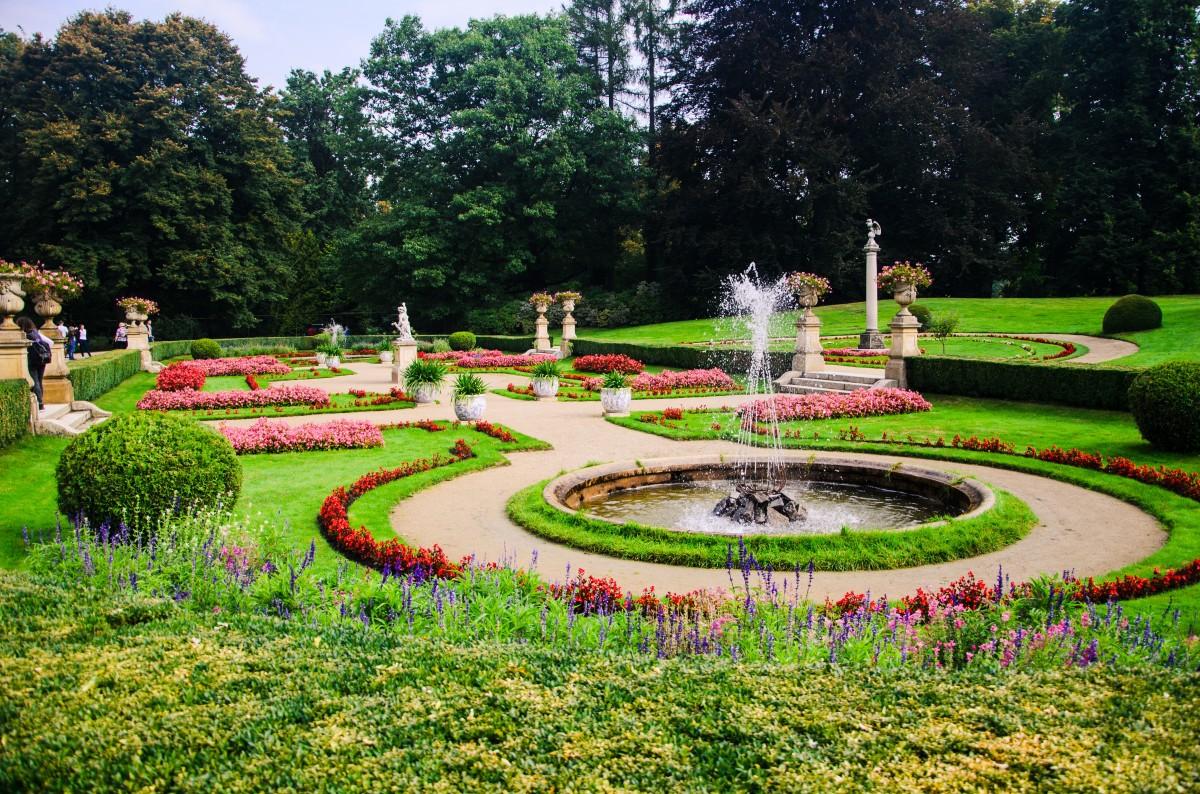 photos de jardins avec piscine