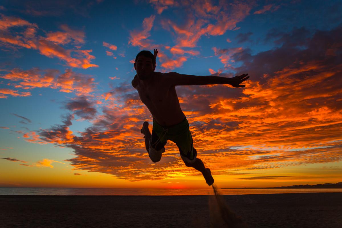 Free Images : beach, sea, coast, water, ocean, horizon, silhouette, cloud, sun ...