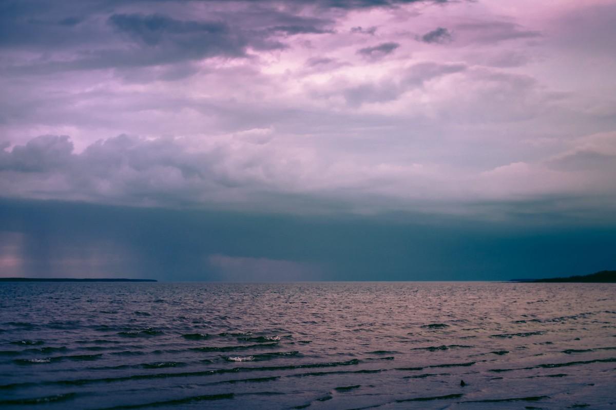 Tropical Waves Sky Mountains Clouds Island Moon Night: Free Images : Beach, Coast, Ocean, Horizon, Mountain