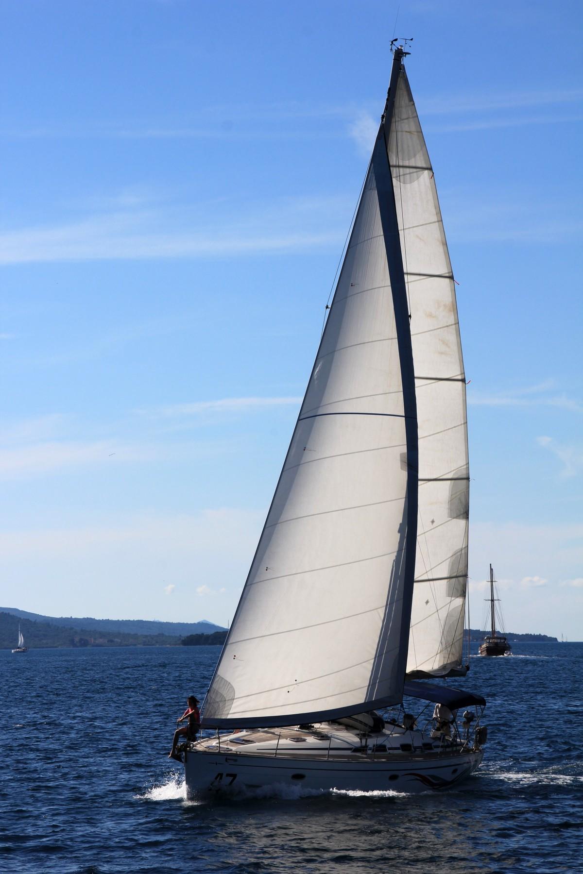 Images Gratuites Mer Navire V 233 Hicule M 226 T Yacht Bleu