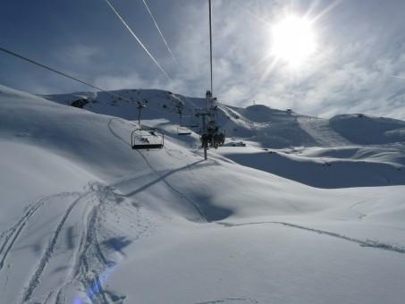 Images Gratuites Montagne Neige Hiver Chemin De Fer