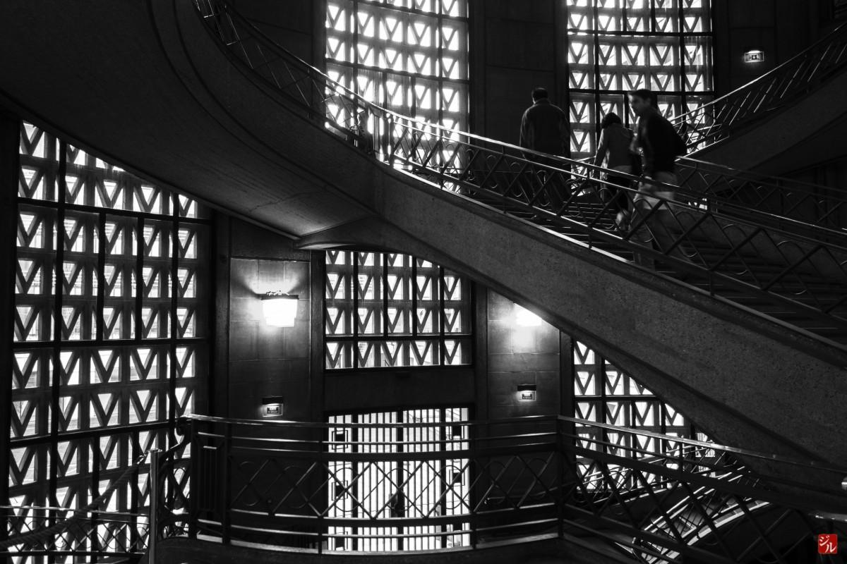 Images gratuites noir et blanc architecture paris for Architecture noir et blanc