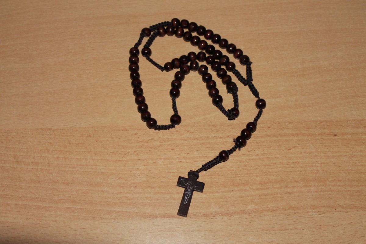 Free Images Wood Chain Cross Christian Bead