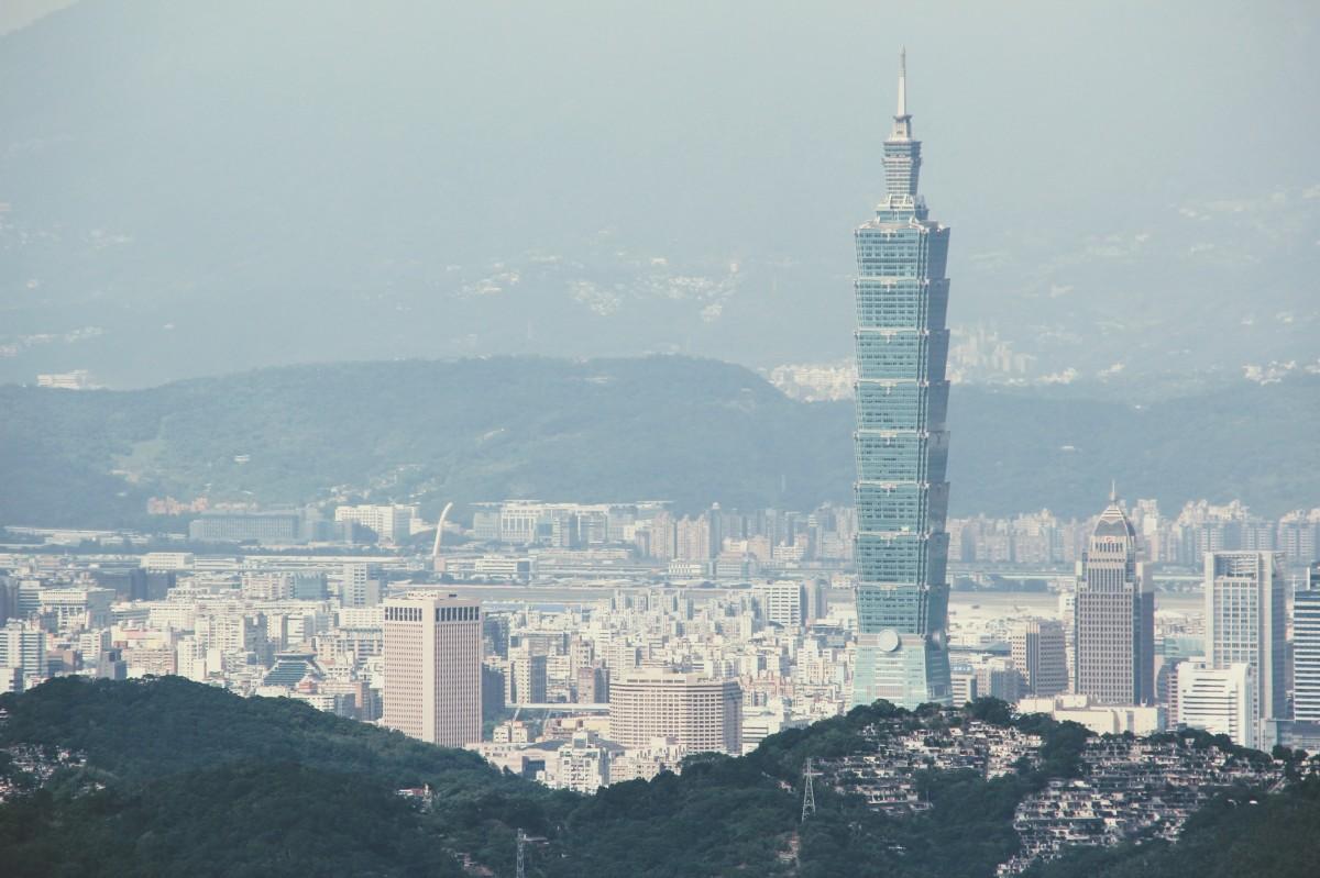Free images skyline night interior city skyscraper for Taipei tower ball